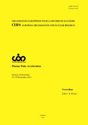 CERN Yellow Report Front Cover